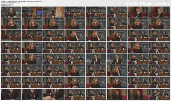 Christina Hendricks - Late Night with Jimmy Fallon (2010-07-22)4