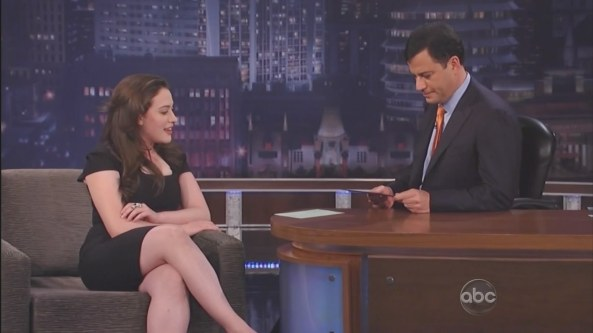 Kat Dennings - Jimmy Kimmel Live (2011-04-26)1
