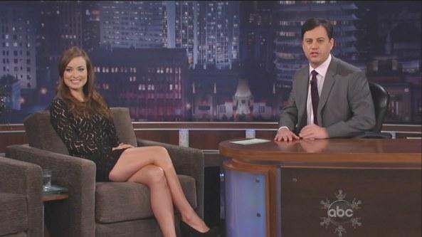 Olivia Wilde – Jimmy Kimmel Live (2010-12-14)2
