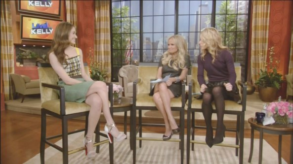 Emmy Rossum - Live With Kelly (2011-01-25)3