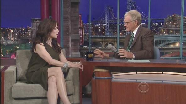 Mary Louise Parker - The Late Show with David Letterman (2009-08-25)4